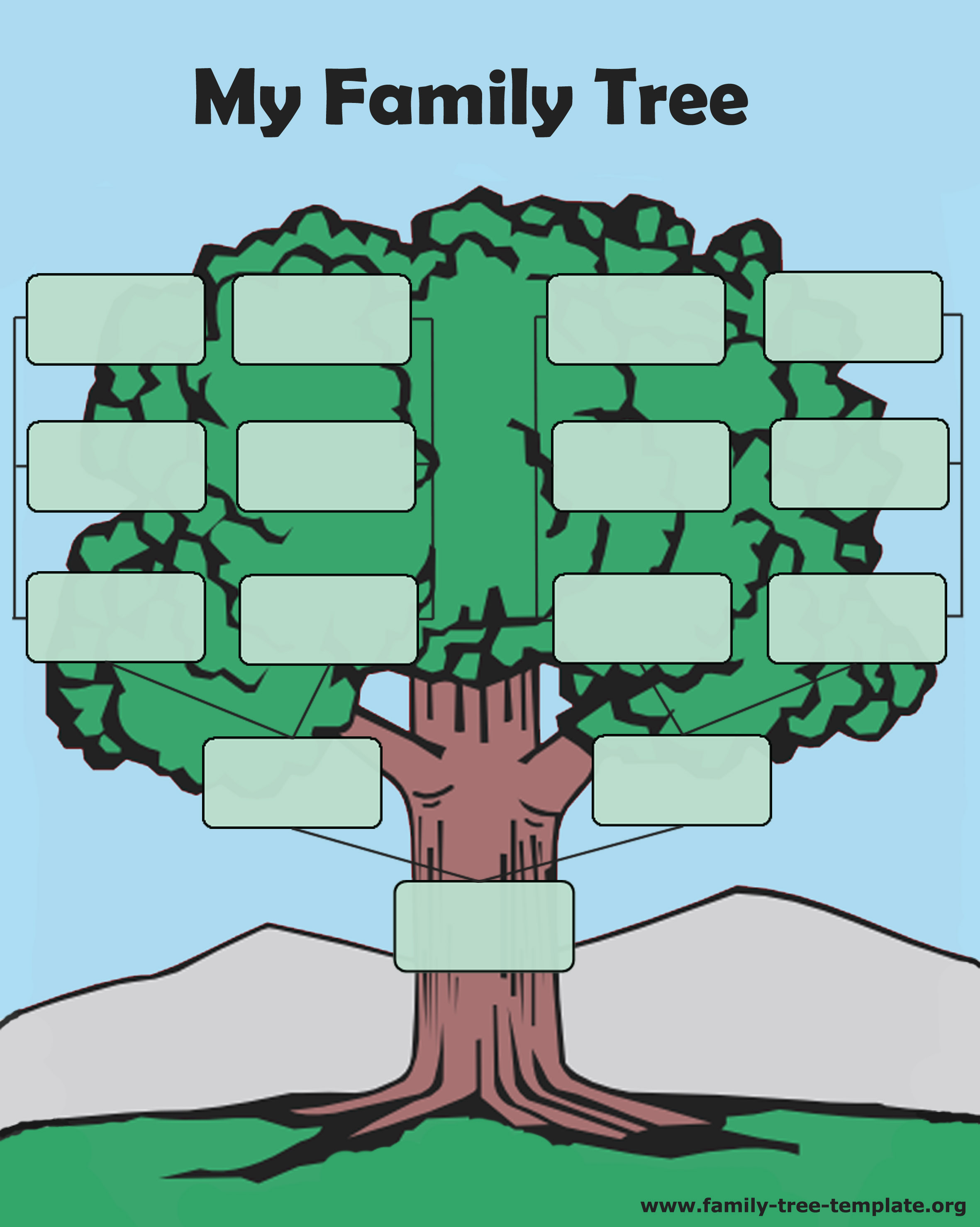 ... tree forms to print and fill out another printable oak tree chart