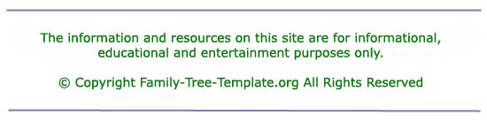 easy family tree template