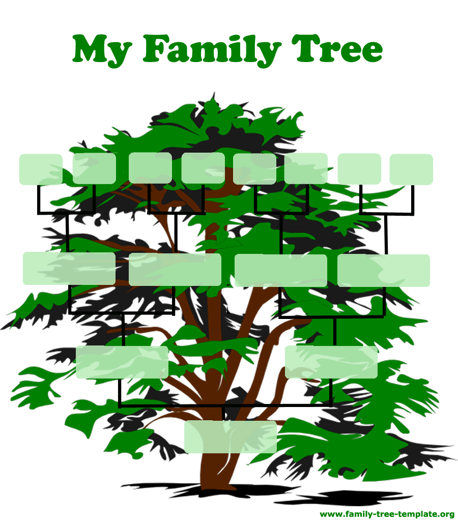 Family tree template resources for Picture of family tree template