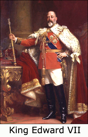 Painting of King Edward VII