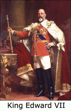 Painting of King Edward VII